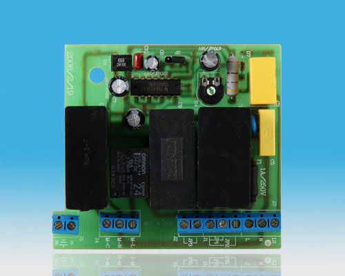 Fan speed regulating board