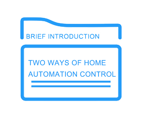 Two Ways of Home Automation Control