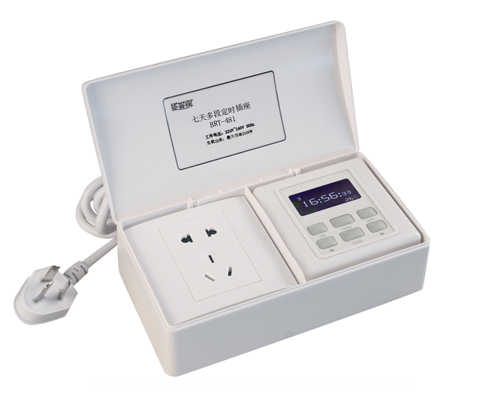 BRT-481 Timer Switch with Socket and Weekly Multip
