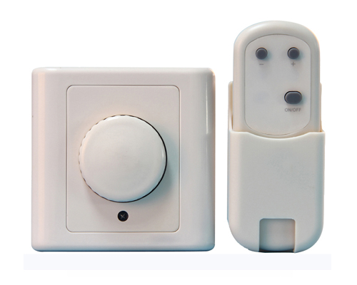 BRT-205L-T Rotary Dimmer Switch with Remote Control
